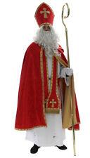 Santa Claus Costume Saint Nicholas Suit Outfit Père Noël Papá Noel Vestment SC4