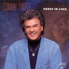 Crazy in Love by Conway Twitty (Cassette 1990, MCA) Tape w/Original Case Promo