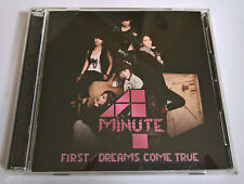 4MINUTE First / Dreams Come True Japan Press LE CD+DVD Type A - No Photocard