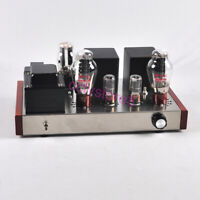 1set Stainless Class A Single Ended 300B98 6N8P Tube Audio Amplifier DIY Kit