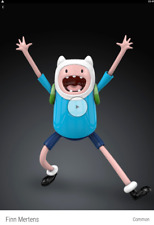 VeVe NFT - Finn Mertens First Appearance, Adventure Time-  SOLDOUT ! China excl