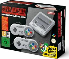 SUPER NINTENDO entertainment system classic mini SEALED with 21 GAMES installed!