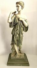 Greek Goddess Artemis Diana Statue Roman Art Figurine 24 inches Tall