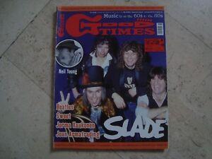 SLADE cover magazine Jim Lea Neil Young Sonics THE SWEET Beatles Uriah Heep