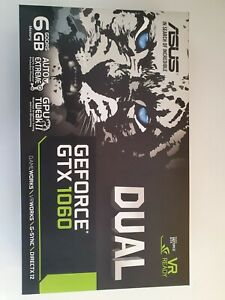 ASUS GeForce GTX 1060 6GB GDDR5 Graphics Card (DUAL-GTX1060)