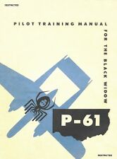 NORTHROP P-61 BLACK WIDOW  / USAAF NIGHT FIGHTER - PILOT TRAINING MANUAL