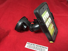 CAR WINDSHIELD MOUNT HOLDER FOR SAMSUNG GALAXY MEGA 5.8 6.3 HYBRID ARMOR CASE
