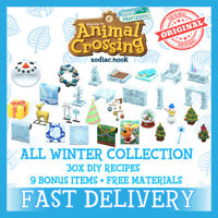 ✨ Winter & Frozen DIY Collection  ✨ AC New Horizons 🚀 FAST DELIVERY 🚀