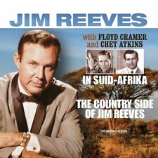 Jim Reeves IN SUID-AFRIKA + THE COUNTRY SIDE OF 180g CRAMER/ATKINS New Vinyl LP