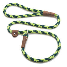 Mendota - Dog Puppy Leash - British Style Slip Lead - Jade - 4, 6 Foot