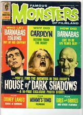 WoW! Famous Monsters #82 House Of Dark Shadows! The Mummy's Tomb! Count Dracula!