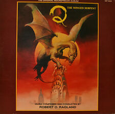"ORIENTE - SOUNDTRACK - Q - THE WINGED SERPENT - ROBERT O RAGLAND 12"" LP (N38)"