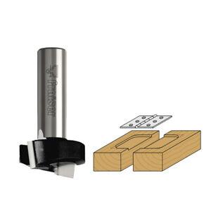 Fresa mortasare Z=2 - Frese x legno HW per fresatrice verticale gambo8mm FRAISER