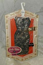 Rare 1963 Vintage Barbie Fashion Pak Lame Sheath - Nrfb!