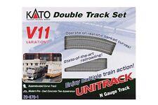 NEW KATO UNITRACK 20-870 V11 DOUBLE TRACK SET