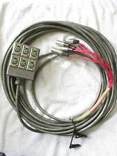 Switchcraft Audio Snake Cable With 6 Channel Stage Box