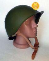 Original USSR Russian Military Soviet Army WWII SSh-68 type Steel Helmet