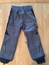 Men's Columbia Gray Insulated Pants Sz M Waist 34 Inseam 31 Euc
