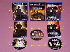 3xps2 _ Batman Vengeance & Batman RISE OF SIN TZU & Batman inizio _ PRIME EDIZIONI