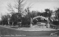 Kit Carson Park Trinidad Colorado 1940s RPPC Photo Postcard Sanborn 12212