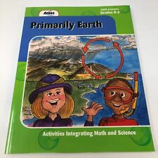 AIMS Education Foundation PRIMARY EARTH GRADES K- 3rd w/ CD NEW/NEVER USED A+