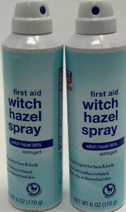 Rite Aid First Aid 86% Witch Hazel Spray  For Face and Body 6 OZ EXP 5/19