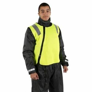Viper Reflective Deluxe waistcoat Jacket Fluorescent Yellow Hi-Viz hi vis