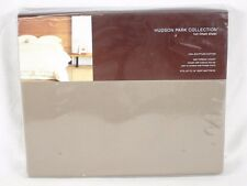 Hudson Park FULL Fitted Sheet 600 TC 100% Egyptian Cotton TRUFFLE BROWN A467