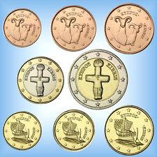 Euro Münzen Satz In Münzen Aus Zypern Nach Euro Einführung Günstig