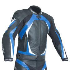 Giacche blu con fodera trapuntata per motociclista