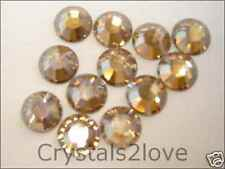 20ss GOLDEN SHADOW  Swarovski Rhinestones 72 pcs