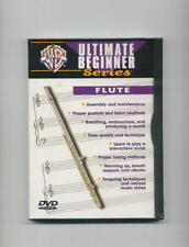 LEARN TO PLAY FLUTE - BEGINNER NEW DVD