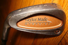 Lefty TAYLORMADE BURNER Oversize Golf Club IRON #4 BUBBLE GRAPHITE R-80 Plus