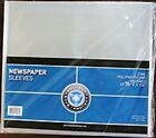5 NEWSPAPER COLLECTOR STORAGE BAGS SLEEVES ARCHIVAL SAFE FREE SHIPPING