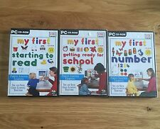 My First Numbers School Cd Rom Set Getting Ready For School Starting To Read New