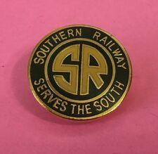 Railroad Hat-Lapel Pin/Tac - Southern Railway (SOU) #1041G (Green & Yellow) NEW