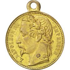 Médailles françaises en laiton