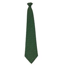 DRAKE'S LONDON crobata de hombre forrada cm 9.5 verde/azul 100% seda Hecho en