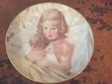 Thornton Utz SWEET DREAMS Portraits of Childhood Plate Collection Viletta China