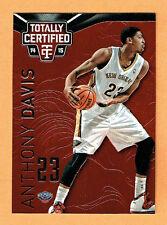 ANTHONY DAVIS Pelicans 2014-15 Totally Certified PLATINUM RED NrMt-Mt Com S&H #/