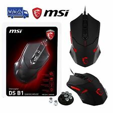 Mouse Gaming USB 2.0 1600 DPI 6 tasti MSI INTERCEPTOR DS B1 compatibile MAC PC