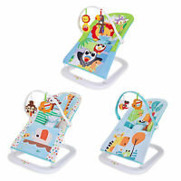 Baby Rocker Toddler Balance Bouncer Safe Chair Soothing Music Vibration Toys