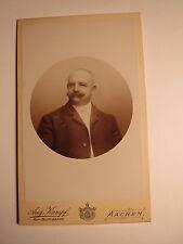 Aachen - Willi Schiffers - 1895 - Mann mit Bart - Portrait / CDV