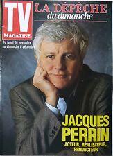 TV MAGAZINE 1992: JACQUES PERRIN_NANA MOUSKOURI_MARLENE JOBERT_JEANNE MAS