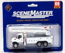 HO Scale Walthers SceneMaster 949-11754 International 7600 Truck w/Bucket Lift