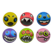 Strange Face Balls Hand Wrist Finger Exercise Stress Relief Therapy Squeeze  OZ