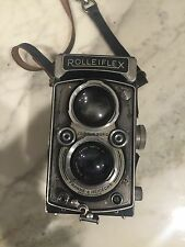 Rolleiflex with  Zeiss Opton Tessar 75mm f 3.5.  See Details.