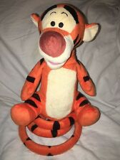 """Just Play Collectible Disney TIGGER Electronic Talking Bouncing Plush Toy 12"""""""