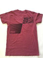 Fox Racing Men's T-shirt Black Print  Size XL