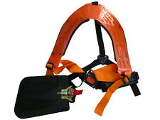 Double Strimmer Brushcutter Harness Quick Release Suits Stihl & Others